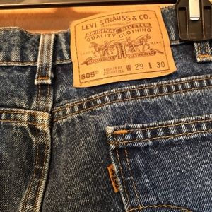 🌟levi's 505 mom jeans🌟